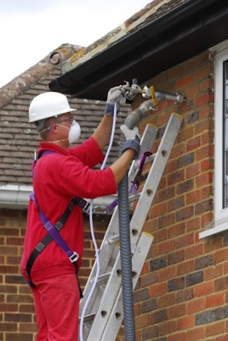 Cavity wall insulation: the costs
