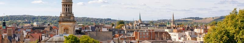 Cityscape of Oxford,England