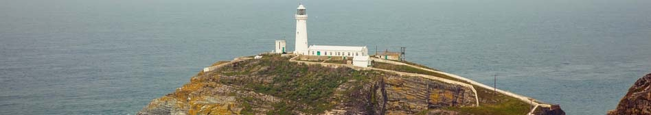 The Lighthouse at south stack, Isle of Anglesey