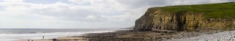Southerndown Cliffs Bridgend