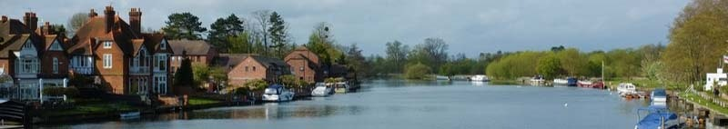 Thames at Marlow Buckinghamshire